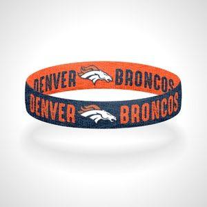 Jewelry - Reversible Denver Broncos Bracelet Wristband